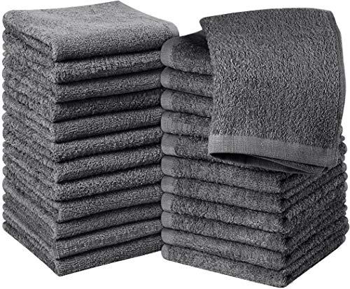 Utopia Towels - 24er Set Seiftücher, 30x30 cm, Washclappen aus 100% Baumwolle,...