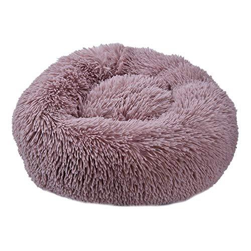 Haustier-Bett-Super Soft Hundebett waschbar Lange Plüsch Hundehütte Deep Sleep...