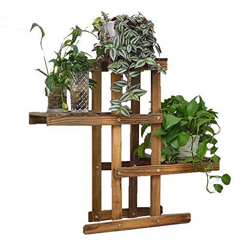 Guohailang Blumenständer Multi-Layer Indoor Outdoor Garten Massivholz Durable...
