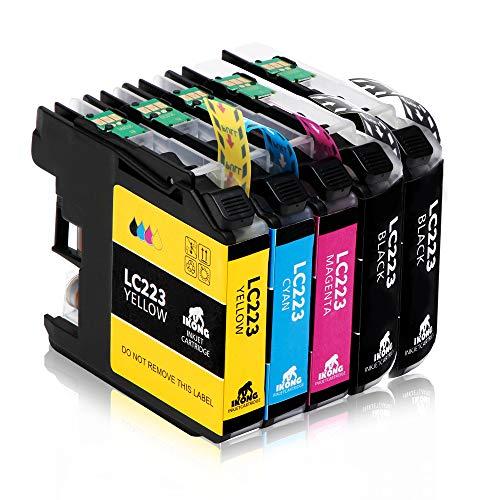 IKONG Ersatz für Brother LC223 Patronen LC 223 Druckerpatronen Kompatibel mit...