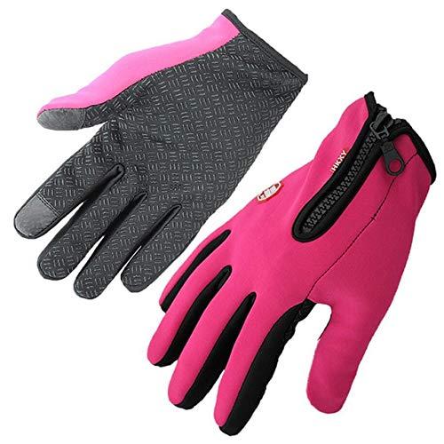 IAMZHL Winter Handschuhe Touch Screen Handschuhe Wasserdicht Männer Frauen Warm...