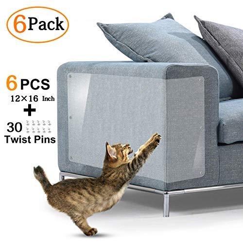 KTL Katzenmöbel Schutz, selbstklebend, Kratzschutz mit Pins Kratzschutz für...