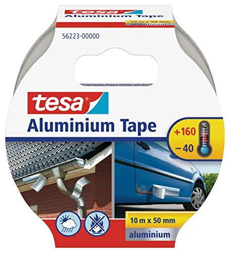tesa Aluminium Klebeband / Selbstklebendes Aluminiumband für Reparaturen von...