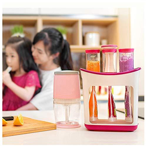 99AMZ Squeeze Station Baby Food Maker, Aufbewahrungssystem für Babynahrung,...