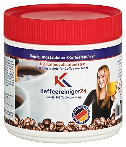 Reinigungstabletten für Kaffeevollautomaten 200 Stück je 2g geeignet für...