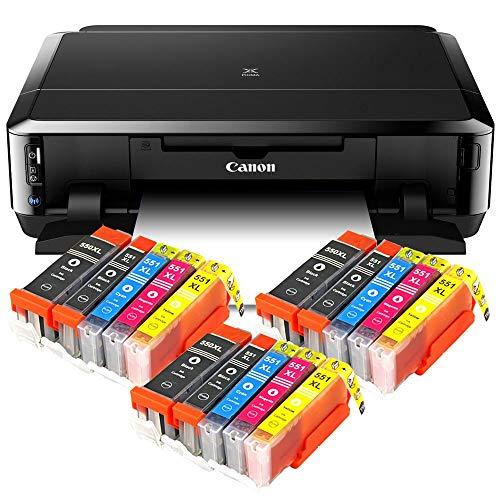 Canon Pixma iP7250 Tintenstrahldrucker mit WLAN, Fotodrucker und CD-Bedruck,...