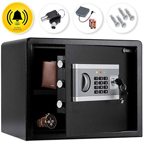 KESSER® Elektr. Tresor   35x25x25cm   Inkl. Batteriebox   Elektronischer Safe  ...