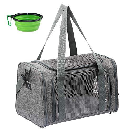 X-Zone Haustier-Transporttasche für Haustiere, für mittelgroße Welpen und...