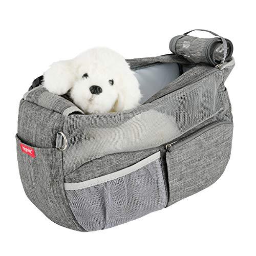 Highkit Tragetuch Hund Atmungsaktiv Haustier Schultertasche Verstellbare...
