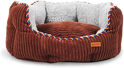 nobrand Zwinger Mat Abnehmbare Samt-Haustier-Nest warme Haustier-Nest Cat House...