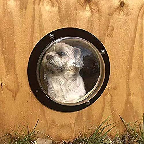 gomaomi Fensterzaun für Katzen und Hunde, klare Sicht, lindert Angstzustände,...