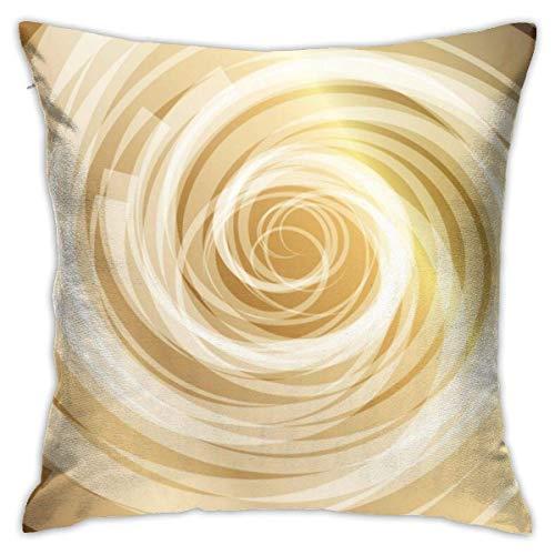 Royfox Pilow Hüllen Gold Whirlpool Hintergrund Standard Kissenbezüge...