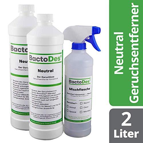 BactoDes Neutral   Geruchsneutrales, vielfältiges Geruchsentferner-Konzentrat  ...