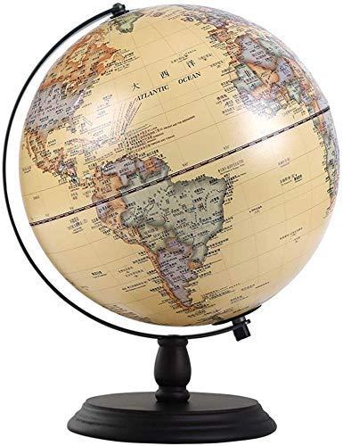 FHISD Weltkugel mit beleuchtetem –13'Leuchtkugel für Kinder und Erwachsene -...