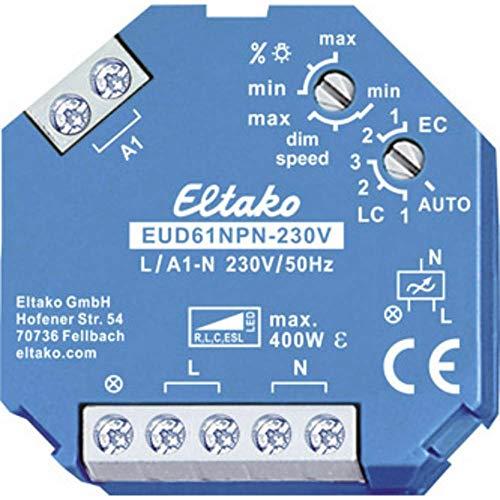 Eltako Universal-Dimmschalter 230V, Power MOSFET, ESL LED bis 400W, 1 Stück,...
