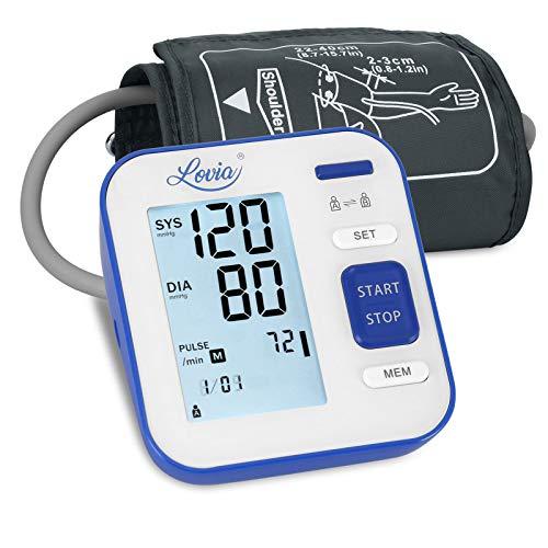 Digitales Automatisches Blutdruckmessgerät für Oberarm - Blutdruck messgeräte...