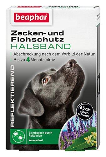 Zecken- & Flohschutz Halsband für Hunde   Zeckenschutz für Hunde  ...
