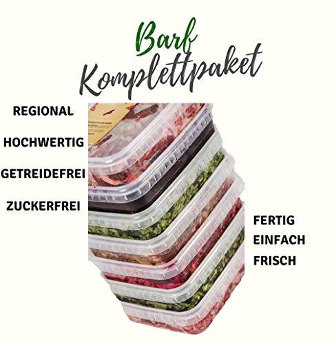 feed&meat Barffleisch Fertigbarf Regional in NRW produziert -Komplettpaket...