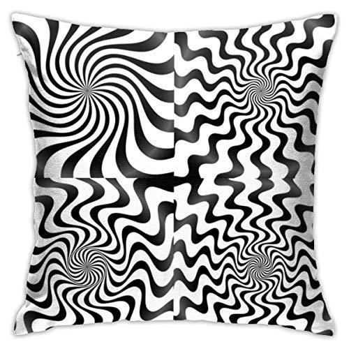 Royfox Pilow Cases Whirlpool Spiral Spire Vortex Hintergrund Standard...