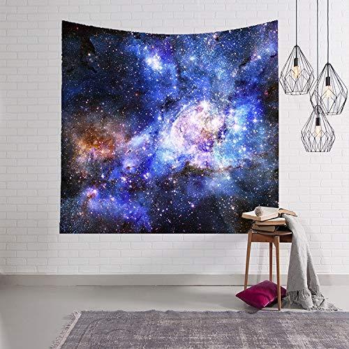 WJH 3D Digital Malerei Himmel wirbelnden Wandteppich Wandbehang Teppich...