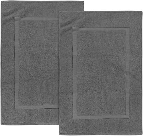 Utopia Towels - 2er Pack groß Badematte Badvorleger, 985 g/m² - 100% Baumwolle...