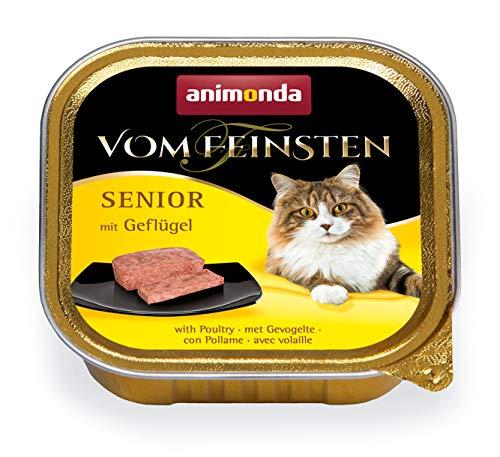 animonda Vom Feinsten Senior Nassfutter, für ältere Katzen ab 7 Jahren, mit...