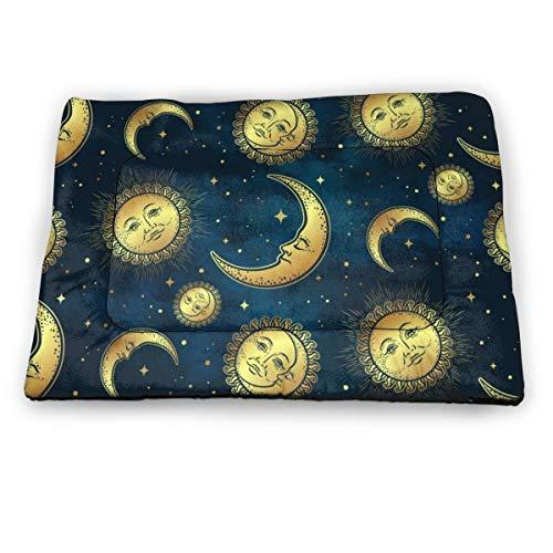 SKY-STAR Skystar Haustierbett mit Sternensonne, Göttin und Mond, beruhigendes...