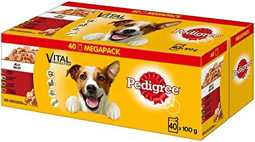 Pedigree Vital Protection Hundenassfutter im Beutel – Hundefutter in Gelee mit...