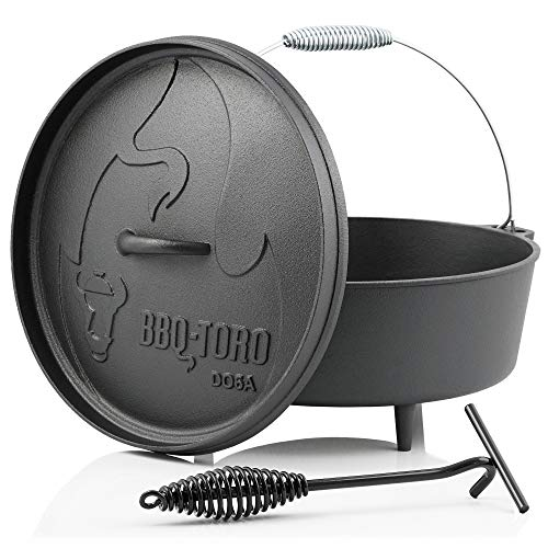 BBQ-Toro Dutch Oven Alpha Serie I bereits eingebrannt - preseasoned I...