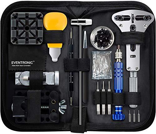 Eventronic Uhrenwerkzeug Set , Uhr Reparatur Uhrmacherwerkzeug Uhr Werkzeug...