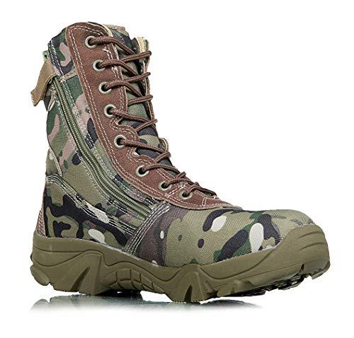 Tebapi Herren Militärstiefel Camouflage Tactical Combat Boots Herren Kamuflaj...