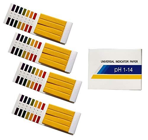 Exporee 320 Stück 1-14 ph Teststreifen Wasser Saft Milch pH Wert Teststreifen,...