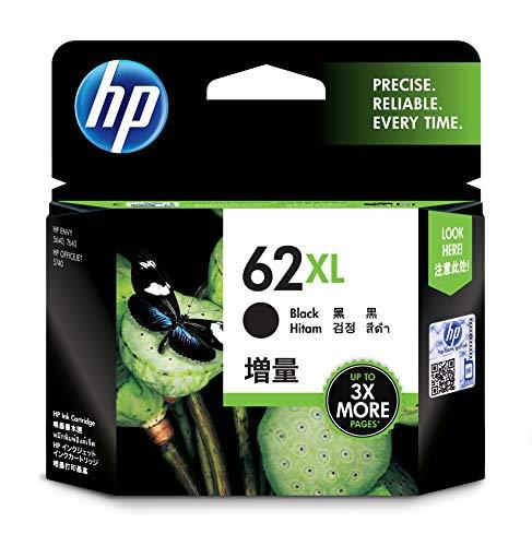 HP C2P05AE 62XL Schwarz Original Druckerpatrone mit hoher Reichweite für HP...