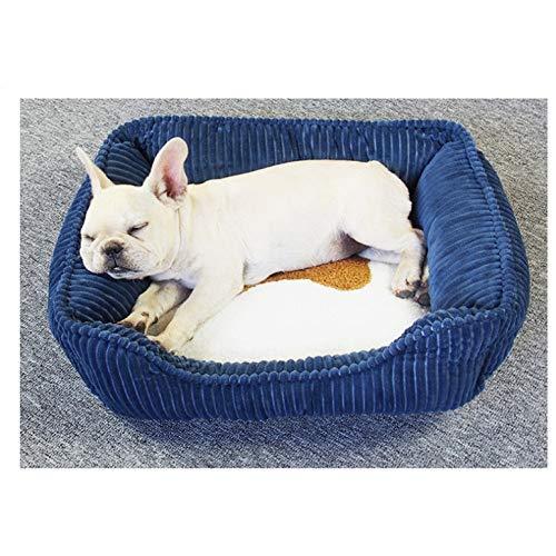 BRTTHYE Small Medium Pet Hundebett für große Hunde Cord