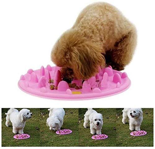 Pet Bowl Cat Dog Langsam Feeder Bowl Pet Interactive Futternapf Langsam-Feed...