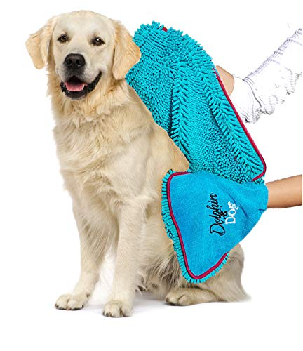 Dog Towel (Blue)
