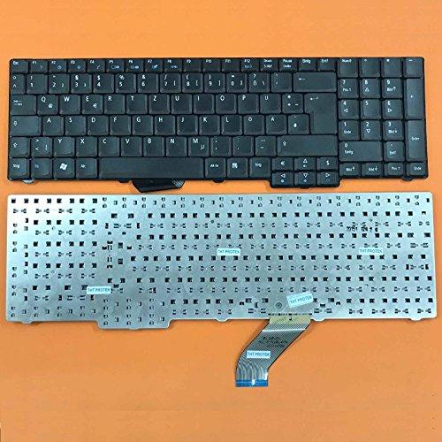 kompatibel für Acer Extensa 5635, 5635G, 5635Z, 5635ZG Tastatur - Farbe:...