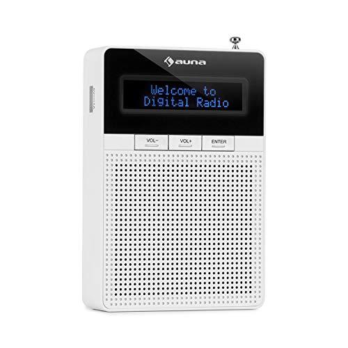auna DigiPlug DAB - Steckdosen-Radio, DAB+ Radio mit RDS, UKW/PLL Tuner,...