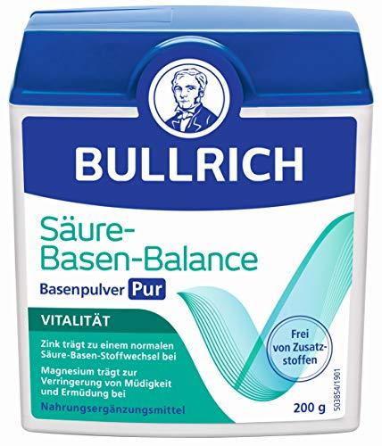 Bullrich Säure-Basen-Balance Basenpulver Pur | Mit Zink für einen...
