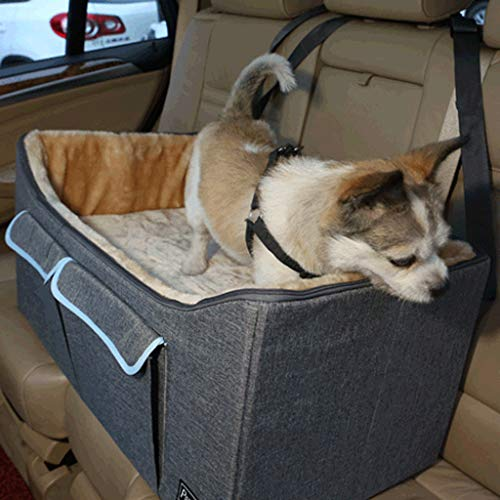 JICCH Autositz für Hunde,Sitzerhöhung für Hunde,Haustier Auto Matte,Hunde...