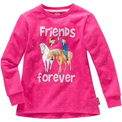 Kinder Mädchen SWEATSHIRT Bibi und Tina friends forever Pullover Sweater Pulli...
