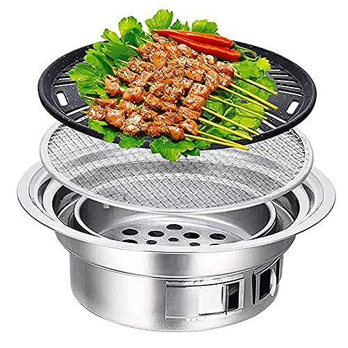 Tragbar BBQ Grill Kohlegrill, japanischer Haushalt japanisch BBQ Grill,...