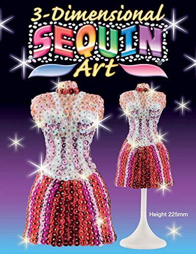 MAMMUT 8101421 - 3D Sequin Art Paillettenfigur Mannequin, Schaufensterpuppe,...