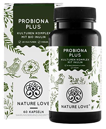 Probiona PLUS - 120 Mrd KBE je Tagesdosis: bis zu 12-fach höher dosiert als...