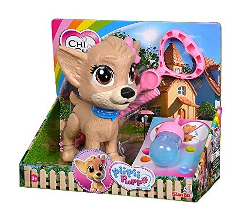 Simba 105893460 Chi Chi Love Pii Pii Puppy, Hund zum Gassi gehen, macht Pipi, ab...