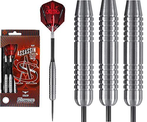 Harrows Assassin Darts – Stahlspitze Wolfram schwer – 40 g