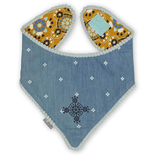 Sigikid Baby-Mädchen Wendehalstuch aus Bio-Baumwolle für Kinder Halstuch zum...