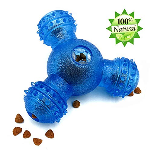 HUADADA Hundespielzeug, Hundespielzeug, Spielzeug, Ball, 3 Löcher,...