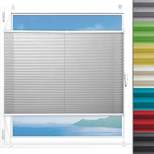 Plissee Rollo Magic | moderner Sichtschutz mit Crushed Optik | Fensterrollo mit...