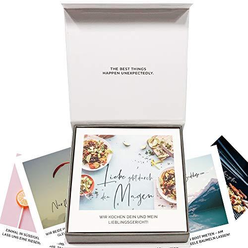 30 Gutscheine für Paare in einer Geschenkbox – romantisches Geschenk für...